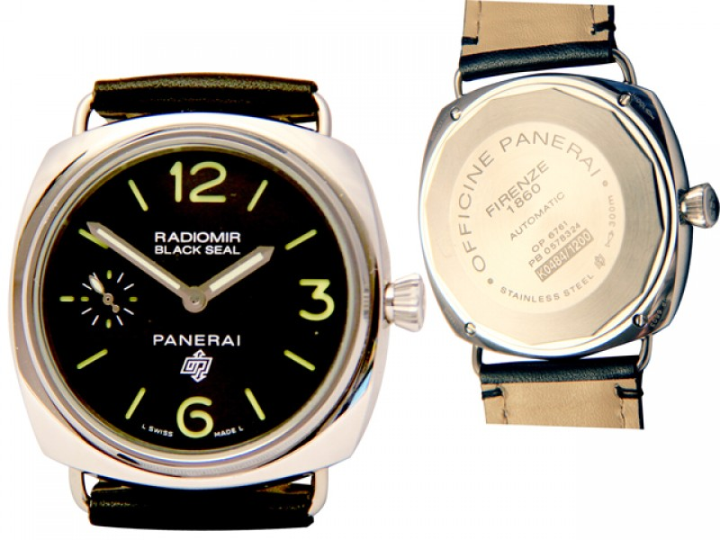 Panerai Black Seal Logo